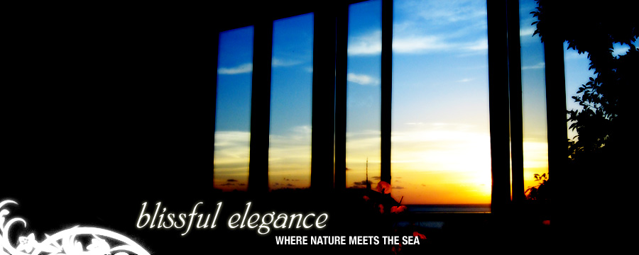 Blissful Elegance - Where nature meets the sea